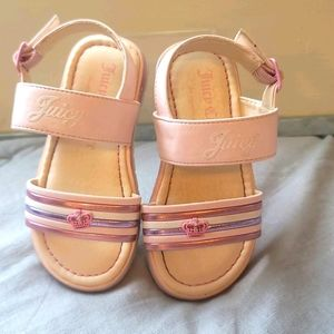 Toddler Juicy Couture Sandals - Pink - Sz 7